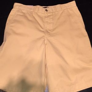 Covington Khaki Shorts Yellow 32""